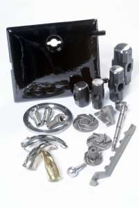Enamelling, Grey Iron, Machined Parts, Brass, Steel Forgings