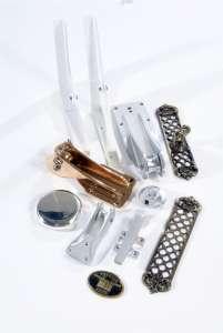 Aluminium, Brass, Polishing, Powdercoating