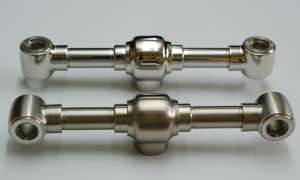 Polished Stainless Steel Taps