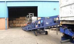 Stockholding - Unloading Ramp